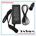 Зарядное устройство 29 4 в 2 А  литий-ионная батарея 24 В 2 а 10 Ач 20 Ач зарядное устройство для 24 в 7 с литий-ионный электровелосипед велосипед эле...