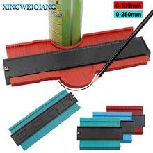 Outil de marquage du bois, jauge en plastique profil de Contour, duplicateur Standard 5 largeur carrelage carreaux stratifiés outils généraux