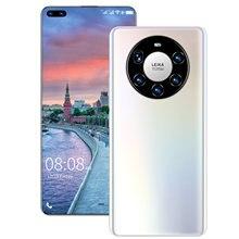 5g versão global huawe smartphone mate40 pro + 7.3 Polegada tela hd 16g 512g mtk6889 + deca núcleo 6000mah 50 mp câmera celular