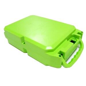 Image 3 - E bike Lithium batterie fall Für 18650 batterie pack Enthält halter und reinem nickel Können platziert werden 104 stück zellen