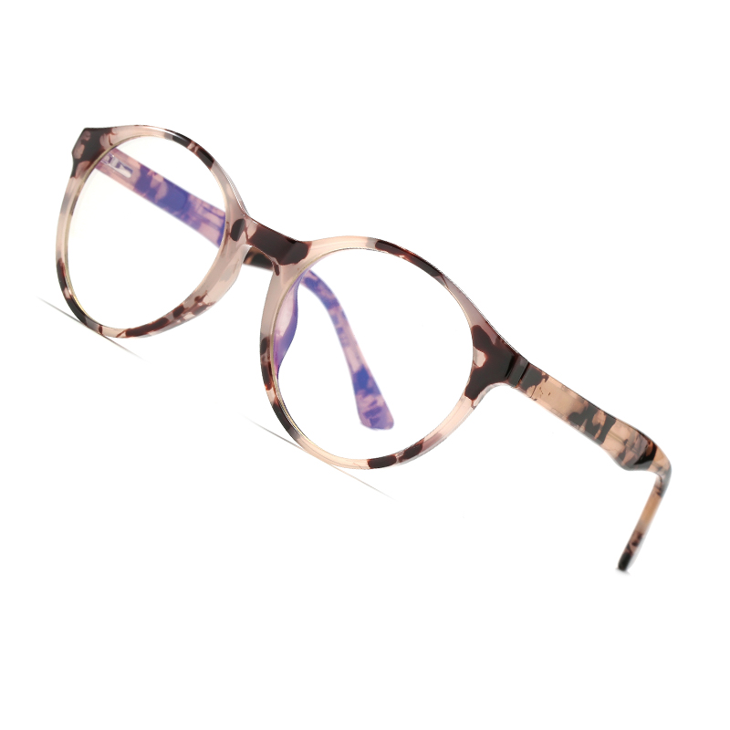AOFLY Round Blue Light Glasses Men Women Vintage Optical Prescription Glasses Frame Vintage Computer Eyewear Myopia Spectacles
