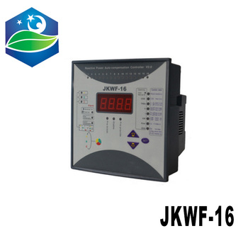 Reactive power automatic compensation controller RPCF3-16 JKWF-16 16steps 380V 50/60Hz reactive power compensation controller фото