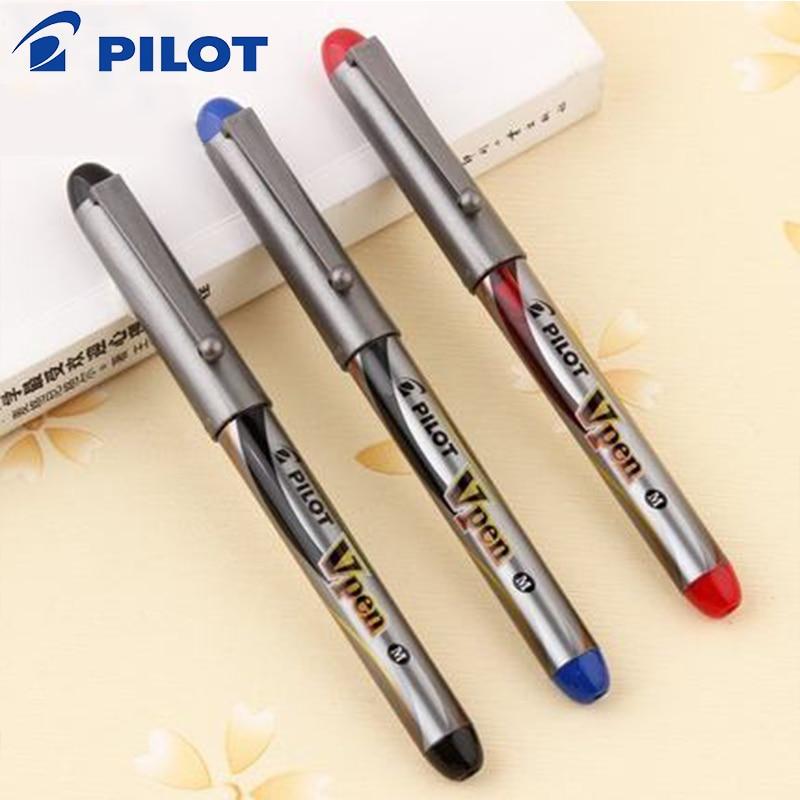 3pcs Japan PILOT SVP-4M Disposable Fountain Pen Signature M Nib Student Fountain Pen