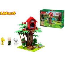 jungle surprise building brick block toys educational LEgogo construction compatible plastic LiNooS peanut hot sales gift