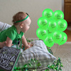 12inch Happy Saint Patrick 's Day Balloons Lucky Clover Print Balloon For Irish St. Patrick 's Day Party Supplies 4