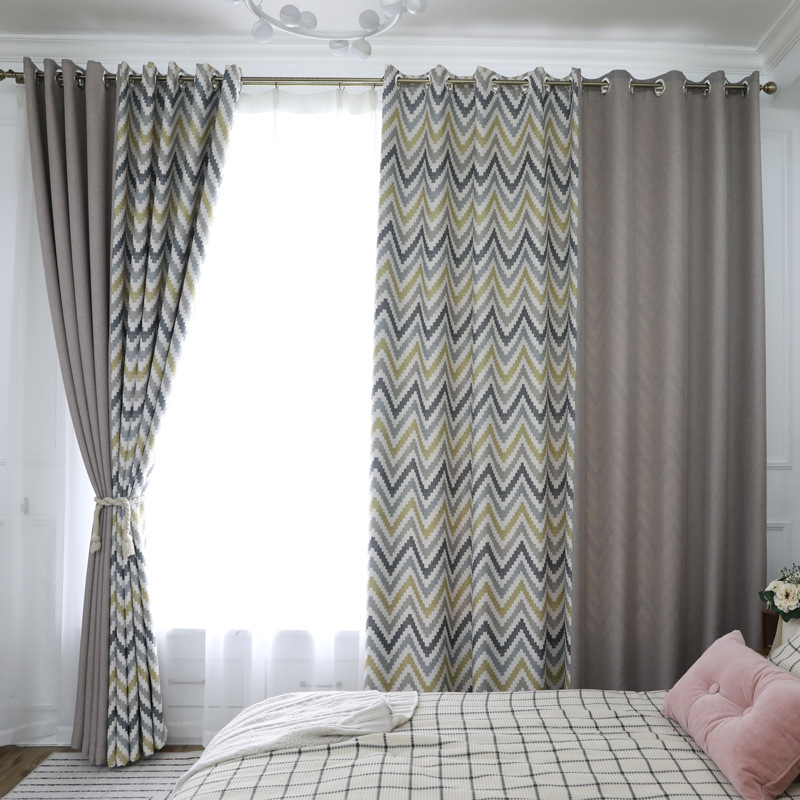 check MRP of yellow grey curtains