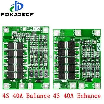 4S 40A Li-Ion Lithium-Batterie Schutz Bord 18650 Ladegerät PCB BMS Für Bohrer Motor 14,8 V 16,8 V Verbessern/Balance