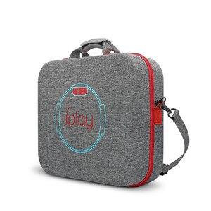 Image 5 - EVA Portable Hard Shell Schutz Lagerung Trage Tasche Große Kapazität Zipper Fall für Nintend Schalter Konsole/Dock/Fitness ring