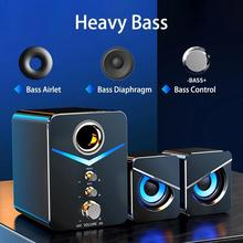Computer Speakers Music-Player Theater Home Sound Wired Pc Subwoofer 1 for Laptop-Box