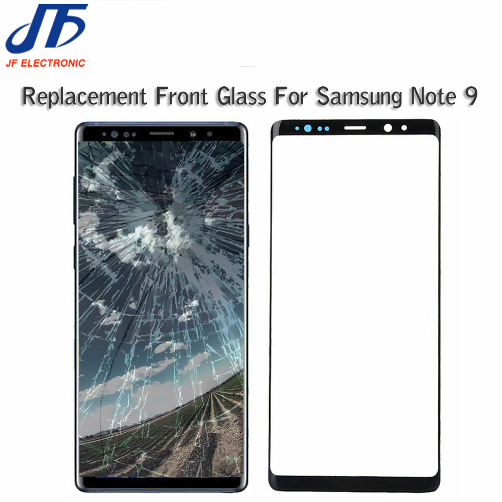 5 stks/partij LCD Front Outer Glas Vervanging Voor Samsung Galaxy Note 9 N960 N960F Touch Screen Panel Lens title=