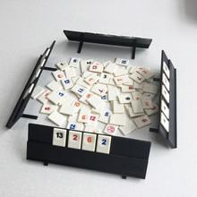 Портативная оригинальная цифровая игра Israel Mahjong, быстро движущаяся плитка, Семейная Игра для путешествий, классическая настольная игра