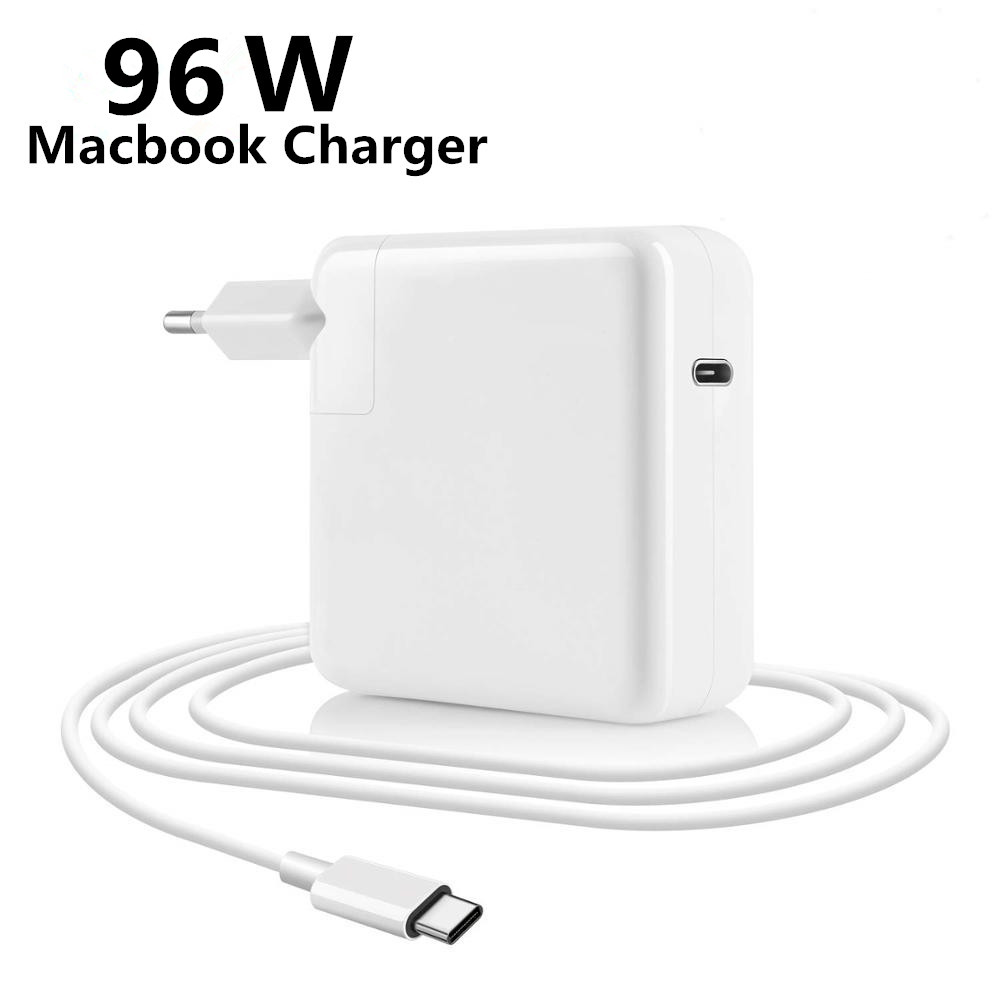 96W 65W USB C Notebook Laptop Quick MagSaf* Power Adapter PD Fast Charger For Apple Macbook Air Pro 11'' 12'' 13'' 15'' 16''17''