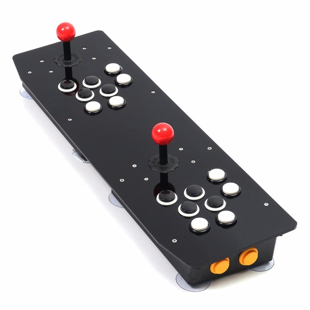 Conception ergonomique Double Arcade bâton jeu vidéo manette de jeu manette pour Windows PC profiter du jeu amusant - 4