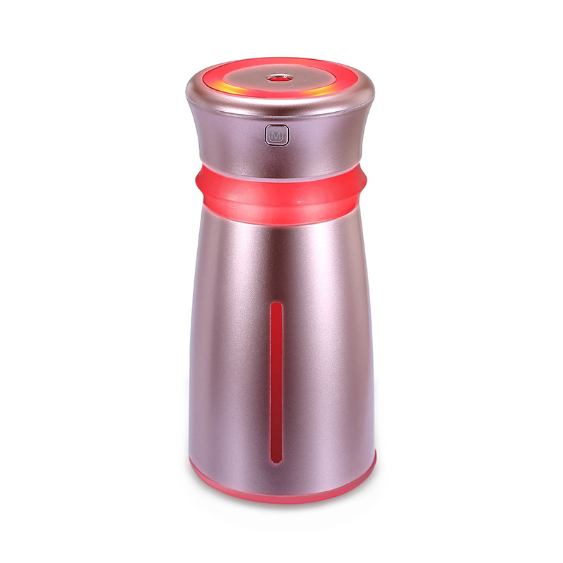 New arrival creative USB air humidifier Mini office home desktop humidifier portable colorful LED Light moisturizing machine
