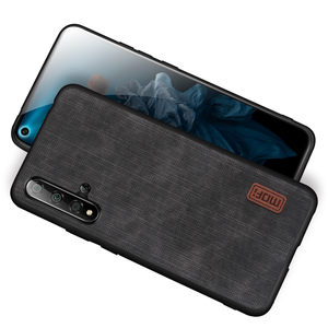 Image 2 - MOFi For Honor 20 Case Huawei 20 Pro  Cover Housing  Silicone  shockproof jeans PU leather TPU Original Anti Knock
