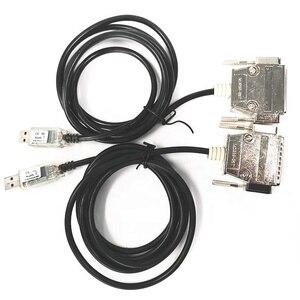 6Ft (6 pies) de USB a Serie RS-232 DB-25 hombre recto a través de Cable FTDI Chipset (5-cables)