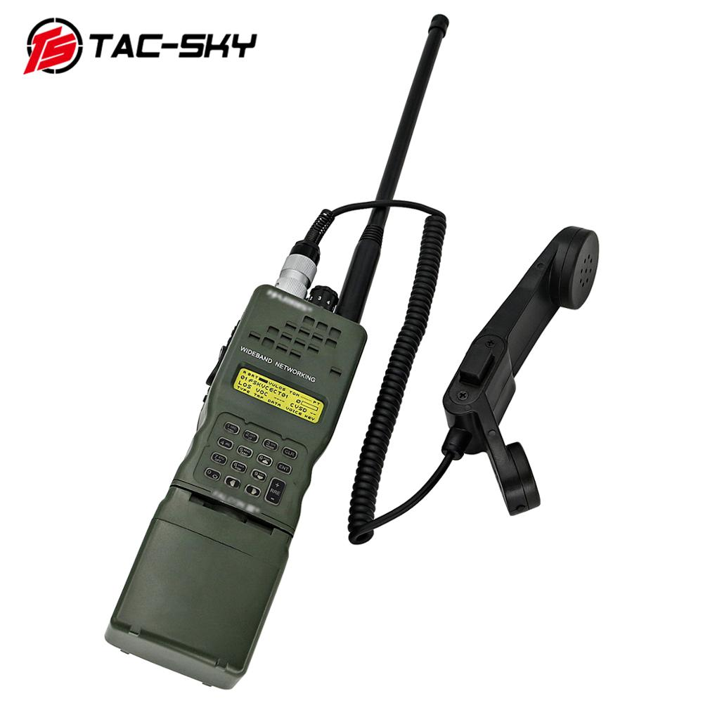 TAC-SKY AN / PRC 152 152A  Harris Virtual Box Walkie-talkie Virtual Model And  PTT H250 PTT 6-pin Handheld Speaker Microphone