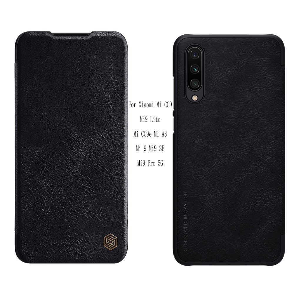 Xiaomi mi9 プロ 5 グラムケースnillkin秦スマートウェイクアップxiaomi mi cc9/cc9E/mi9 lite/mi A3/ポコF1 財布ケース