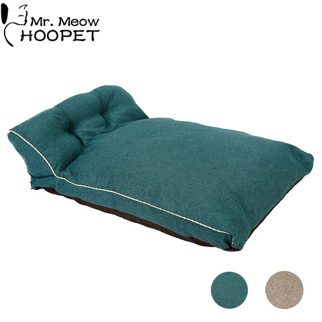 Cozy Dog Couch Lounger - Cat Bed - Removable Cover  1