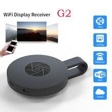 G2 tv vara para mirascreen 1080p display receptor anycast hdmi-compatível miracast wifi tv dongle para android ios espelho tela