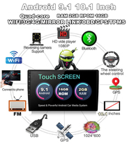 Universal Single Din Adjustable Android Quad-core RAM 2GB ROM 16GB 10 #8243 Car Stereo Radio GPS Wifi 3G 4G BT DAB Mirror Link OBD cheap FY-UU 1024*600 Charger Touch Screen FM Transmitter Radio Tuner Bluetooth MP3 MP4 Players Mobile Phone