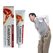 Thailand Counterpain Analgesic Relieves Muscle Aches and Pain Relieve Pain Balm Rheumatoid Arthritis Ointment to Asia EU