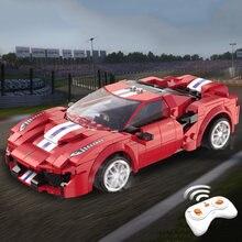 306 шт Электрический блоки Радиоуправляемый гоночный автомобиль