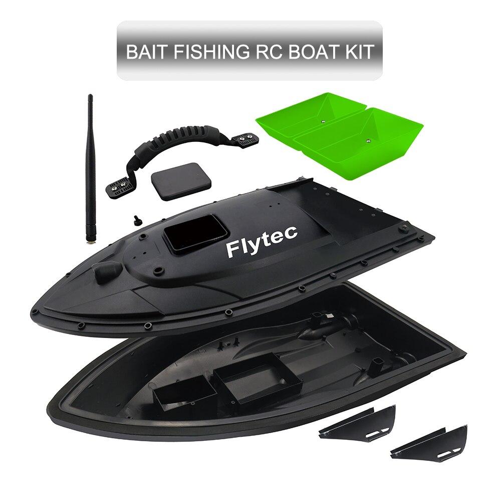 Flytec 2011-5 500M télécommandé détecteur de poisson RC ensemble de Kit d'appâts de pêche