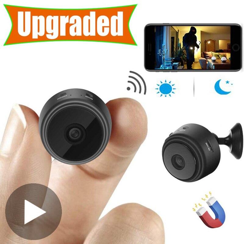 Micro casa sem fio de vídeo cctv mini vigilância segurança com wifi ip camara sensor infravermelho cmos 2mp telefone alarme câmera