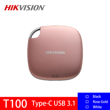 Hikvision T100 External Hard Drive Portable SSD 120GB 240GB 480GB 960GB USB 3.1 Type C External Solid State Drives For Laptop