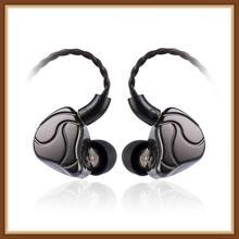 цена на SHUOER S10 1DD+1BA Hybrid In Ear Earphone HIFI DJ Monitor Running Sport Earphone Headset Earbud W/ MMCX Cable ZS10 PRO
