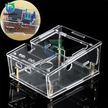 Akrylowe przezroczyste etui Shell dla TFT GM328 Tester próbnik elektroniczny miernik przebiegu diody PWM kwadratowa fala DIY Kit
