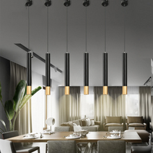 American Retro LED Iron Pendant Lamps Nordic Creative Pendant Lights Bedroom Bar Restaurant Interior Decoration Hanging Lamps american interior