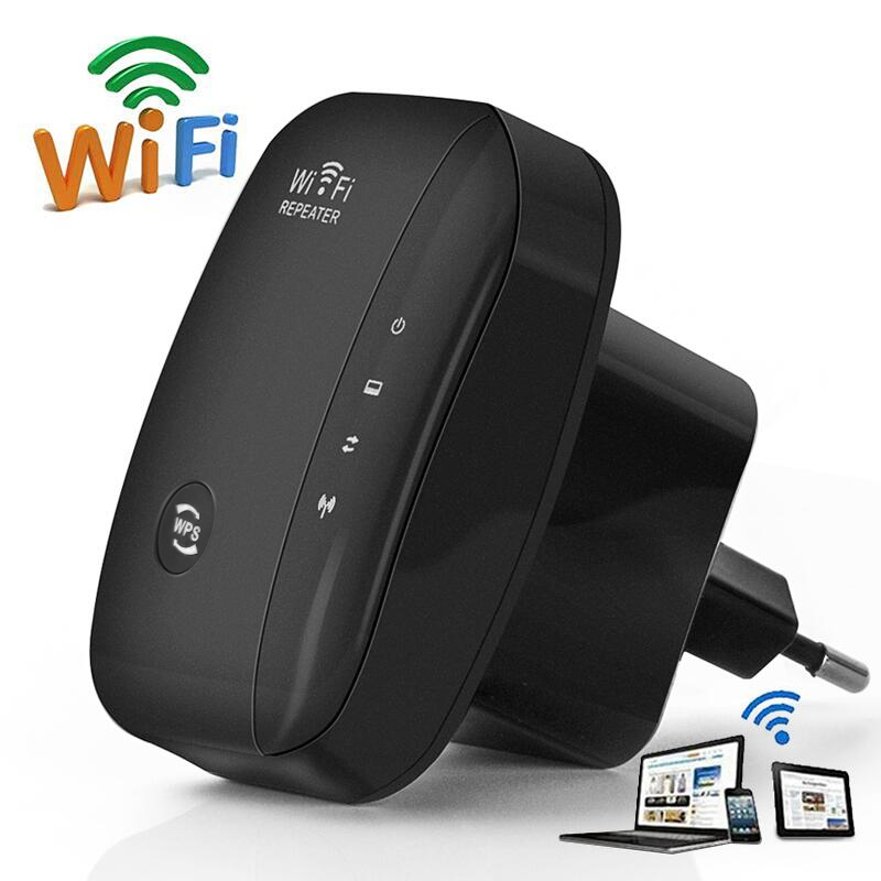 Wireless WiFi Repeater 300Mbps Wifi Booster Repetidor Wi Fi Signal Amplifier 802.11N Wlan Repeater Ultraboost 2.4G Wifi Extender