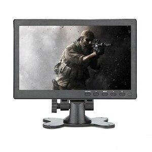 Portable gaming monitor pc 10.1 inch lcd full hd ips 1920x1200 display screen With BNC AV VGA HDMI mini small computer monitor