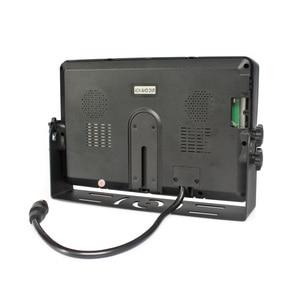 "Image 5 - DIYKIT AHD 9"" 4 Split QUAD Car HD Monitor 1080P AHD IR Night Vision Rear View LED Camera Waterproof with SD Card Video Recording"