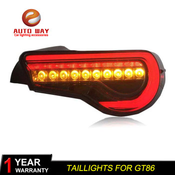 Car Styling Tail Lamp case for Toyota GT86 Toyota GT 86 taillight Toyota 86 Tail Lights LED GT 86 taillights Tail Light LED