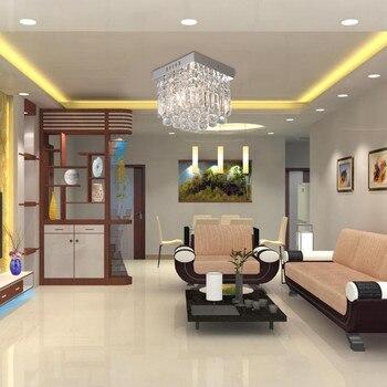 shipped from US Luxury Crystal Chandelier Living Room Lamp de cristal indoor Lights Crystal Pendants For Chandelier g3