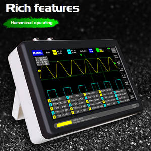 Oscilloscope-Set Storage-Analyzer Digital Handheld Mini Electronic for Maintenance 8MB