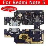 USB originale Consiglio di Carica Per Xiaomi Redmi Nota 5 Note5 di Ricarica Porta del Connettore Accessori Del Telefono Mobile di Ricambio pezzi di Ricambio