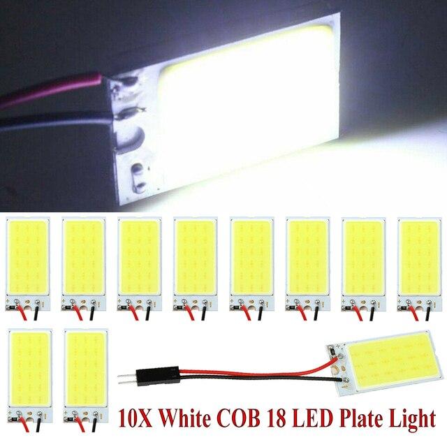 белый монолитный блок светодиодов 18 плоская купольная лампа фотография