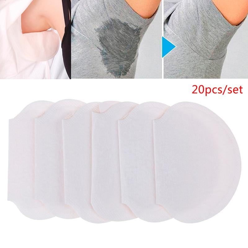 10/20pcs Disposable Absorbing Underarm Sweat Guard Pads Deodorant Armpit Sheet Dress Clothing Shield Sweat Perspiration Pads