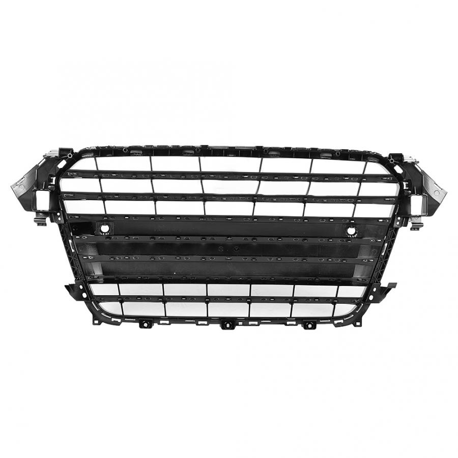 Image 4 - For S4 Style Car Front Bumper Mesh Grille Grill for Audi A4/S4 B8.5 2013 2014 2015 2016 ABS Black Car AccessoriesRacing Grills   -