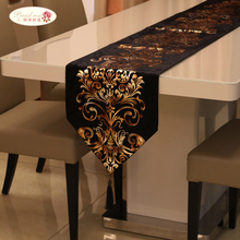 Table Runner Cloth Wedding-Decoration Rose Luxury European Fashion Proud Neoclassical