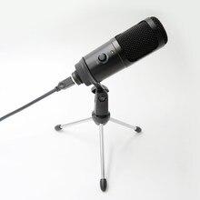 Ytom m1 pro streaming usb microfone de metal condensador microfones para computador portátil gravação estúdio streaming youtube tiktok