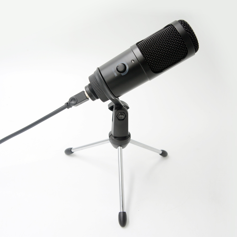 YTOM Streaming USB Microphone Metal Condenser Microphones for Laptop Computer Recording Studio Streaming Karaoke Youtube TIKTOK