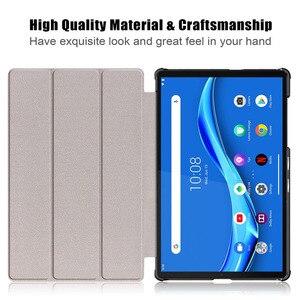 Image 5 - 20PCS/Lot 2020 Flip Cover For Lenovo Tab M10 FHD Plus X606 Slim Luxury Tablet PU Leather Case