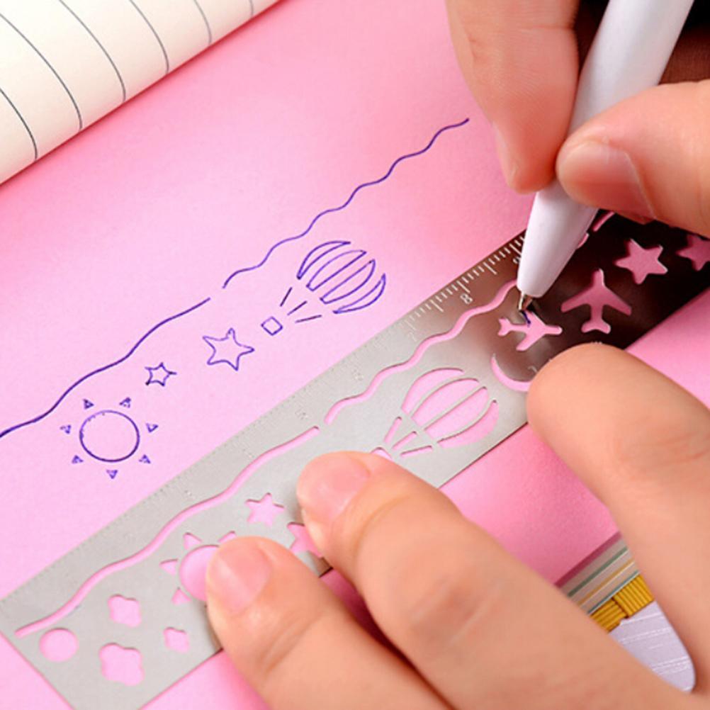 Ультра-тонкий металлический тонкий вырезать закладку лента Линейка короткая книга маркер модные закладки для книг канцелярские товары Glifts