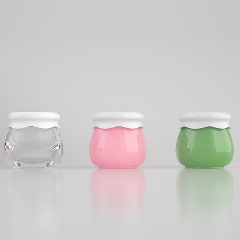 10g Pp Cute Skin Care Cream Container Lovely Plastic Jar Baby Cosmetic Cream Bottle Pot Refillable Bottles Aliexpress