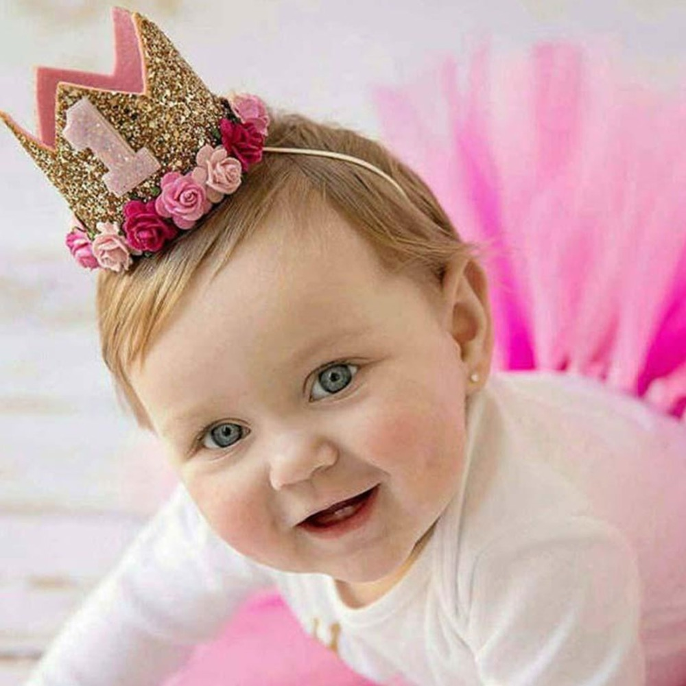 Baby-Girl-Birthday-Party-Hats-Kids-1-2-3-Years-Birthday-Princess-Crown-Number-Baby-Cap (1)